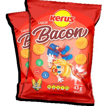 Salgadinho de Milho Bacon