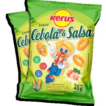 Salgadinho de Milho Cebola e Salsa